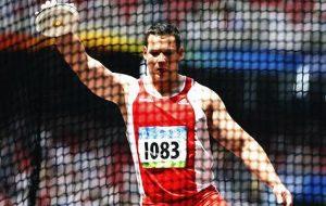 Gerhard Mayer Leichtathletik Diskuswurf olympische Spiele