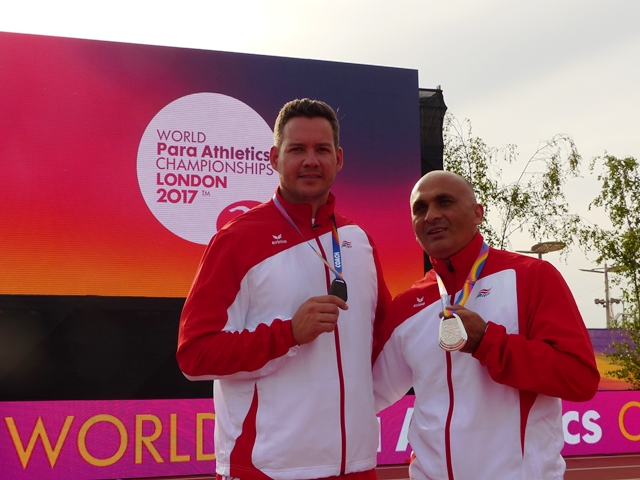 Marinkovic und Mayer bei den World Para Athletics in London 2017