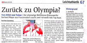 Pressebericht-Gerhard-Mayer-Personal-Trainer