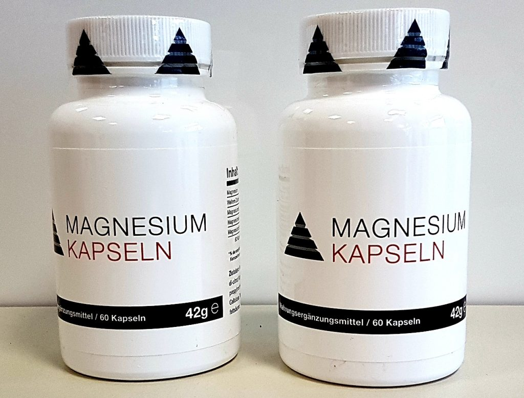 Magnesium Supplemente zur Unterstützung beim Training