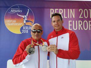EM Silber durch Bil Marinkovic im Diskuswurf der Leichtathletik